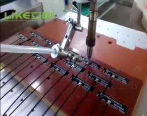 pcb板通訊天線焊接視頻